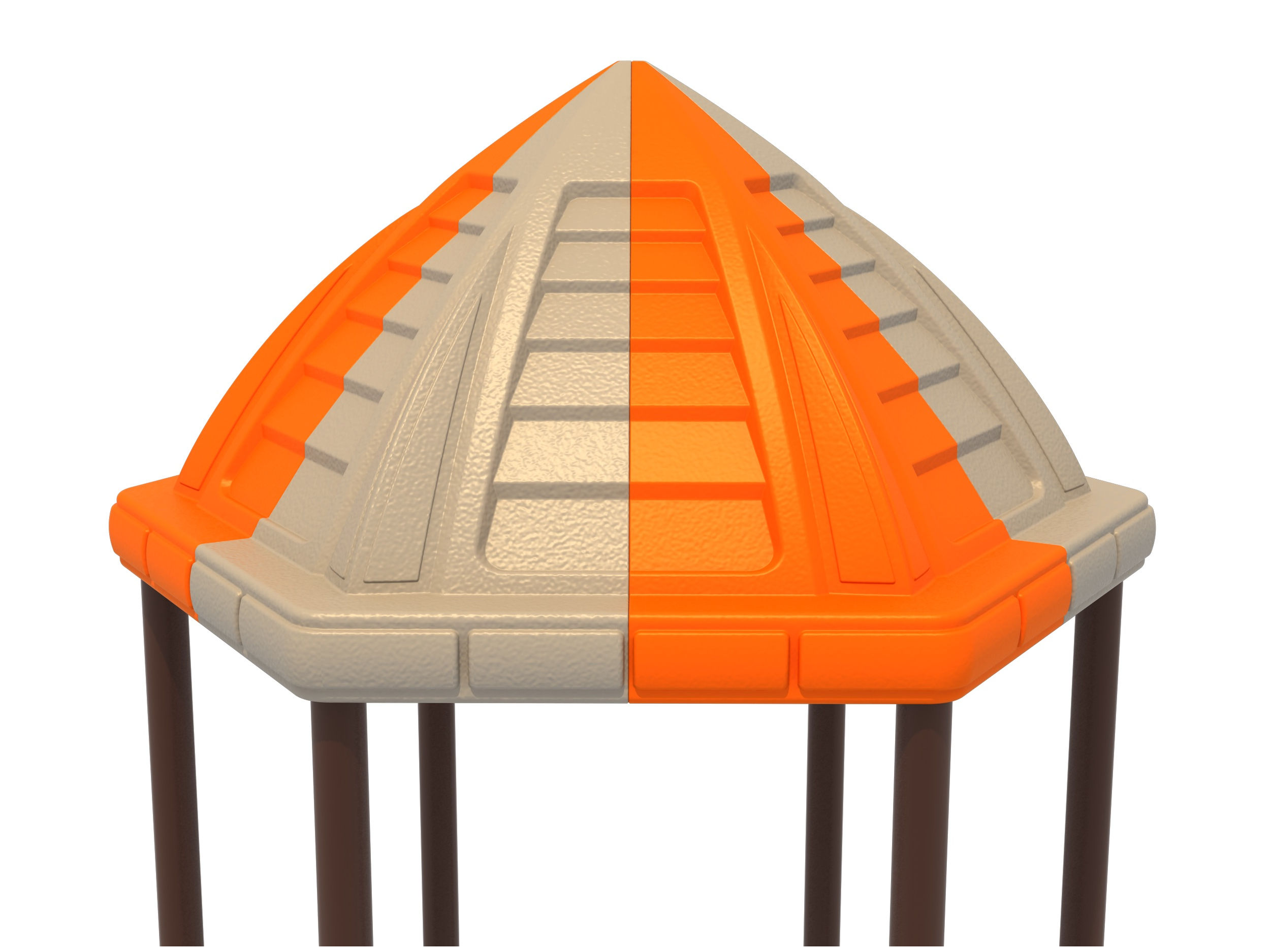 Hex Pyramid Roof
